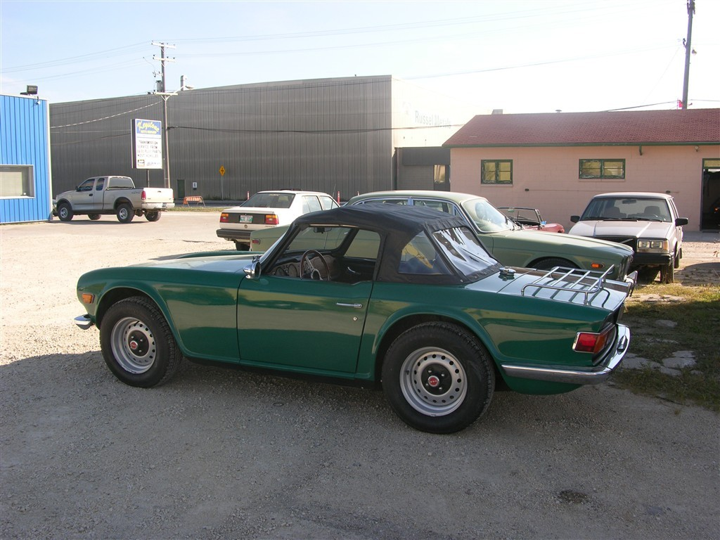 1972 Triumph TR6 - Red Bearing Automotive Service & Restoration ...